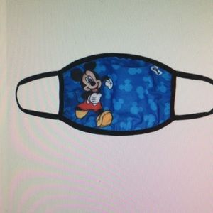 Disney Mickey Mouse blue youth fashion face mask